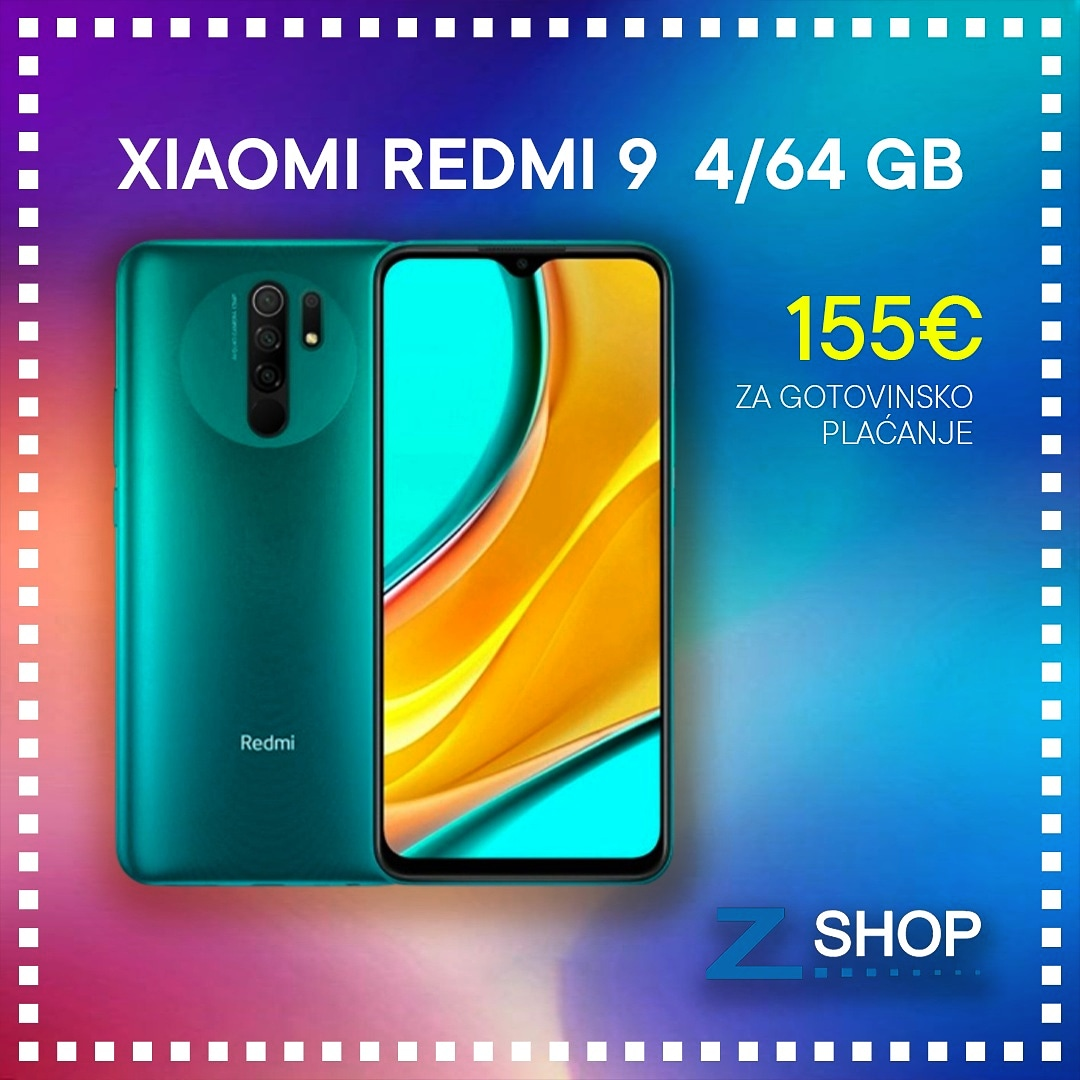 Xiaomi Redmi 9 4/64 GB