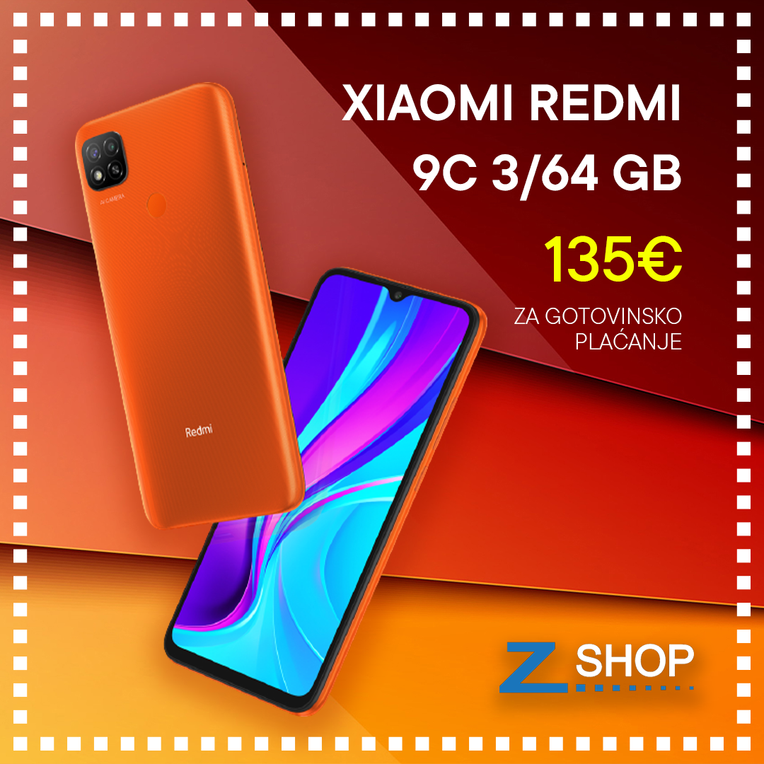 Xiaomi Redmi 9C 3/64 GB